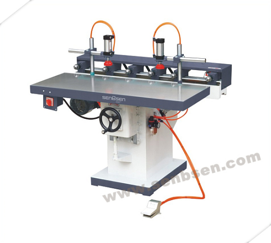 6 Spindles Wood Horizontal boring Machine
